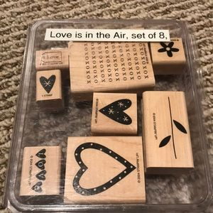 Stampin' Up Love is in the Air stamp set